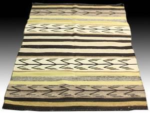 Hand Woven Navajo Indian Rug
