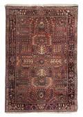 A Sarouk Wool Mat