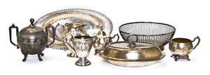 A Collection of Silverplate Serving Articles