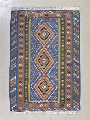 A Kilim Wool Flatweave Rug