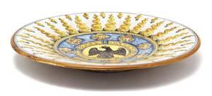 An Italian Faience Ceramic Charger