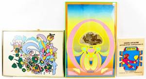 Group of 3 Peter Max Works