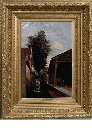 91 19C M Donat Le Moulin StPierre  Oil On Canvas