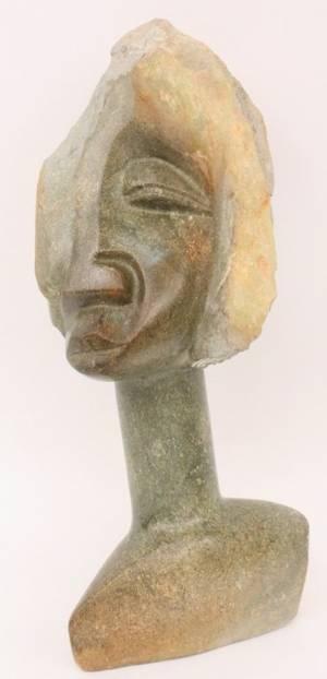 Munyaradzi Nyagura Carved Stone Figural Sculpture