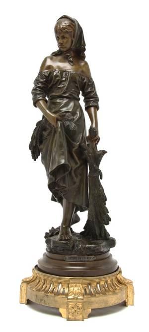 A French Bronze Figure Eutrope Bouret 18331906