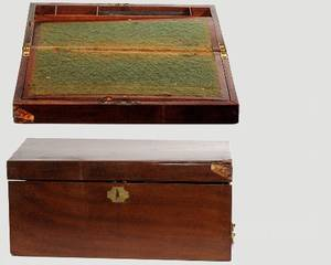 186 19th Century Mohogany Lap Desk