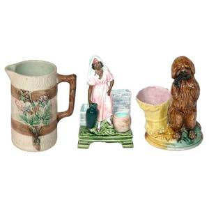 A Collection of Majolica Articles