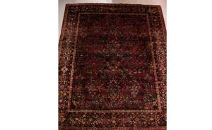 79A Persian Semi Antique Sarouk Carpet