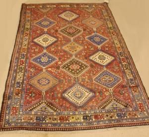 Persian Hand Knotted Kazak