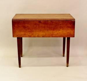 An Early 19th C American Mahogany Pembroke Table