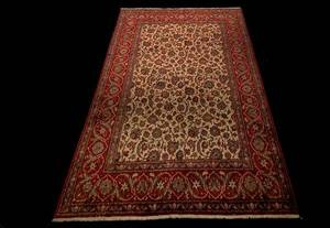 191 Semi Antique Sarouk Carpet
