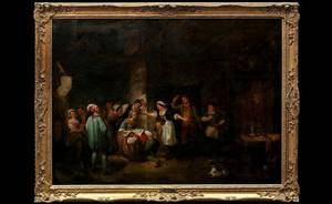 148 Attributed to Sir David Wilkie English17851841oil
