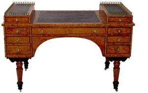 269 19th Century German Biedermeier Desk