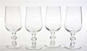 Eight Lalique Wine Glasses