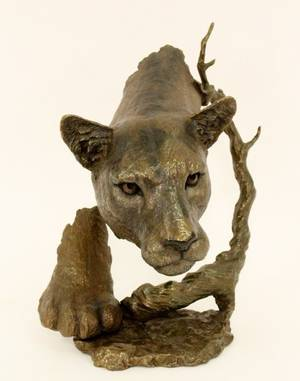 Mark Hopkins Mountain LionPanther Bronze