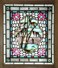 262 John Lafarge Stained Glass Window