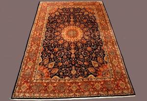 244 Semi Antique Sarouk Carpet