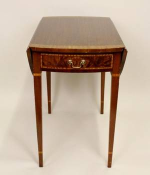 Mid20th Century Inlaid Pembroke Table