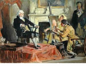 253 Oil on Canvas Board by Edmund F Ward