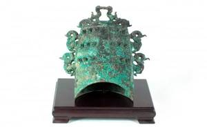 133 Chinese Zhou Dynasty Bronze Musical Bell