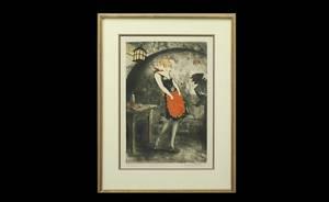 221 Louis Icart French 18881950 Apache Dancer