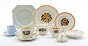 An English Ceramic Partial Tea Service Johnson Bros