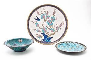 A Chinese Cloisonne Charger