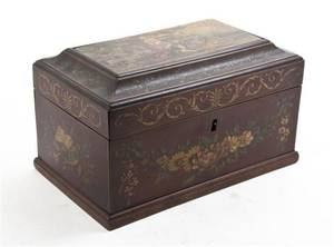 A Victorian Lacquered Table Box