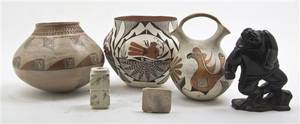 Two Acoma Pottery Vessels