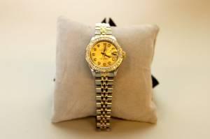 Ladies Two Tone Rolex Watch