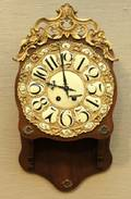 Japy Freres Bronze Dore Wall Mount Clock