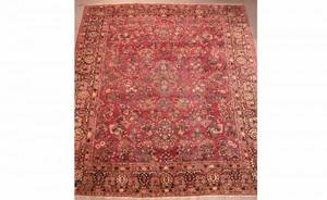 294A Persian Semi Antique Sarouk Carpet