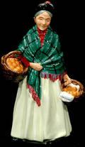 434 Royal Doulton Figurine The Orange Lady HN1953