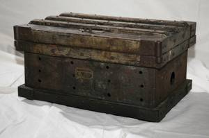 Original Steam Sailing Ship Tool Chest