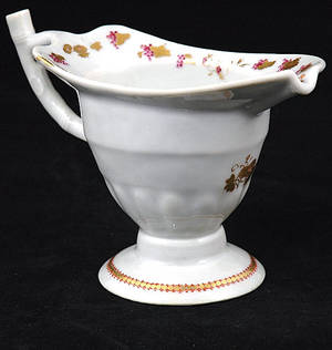 386 18th Century Chinese Export Porcelain Gravy Boat
