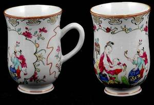 382 18th Century Chinese Export Painted Mug