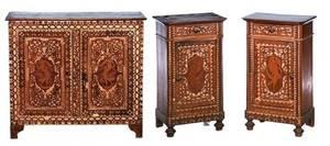 382 Italian 19th Century Three Piece Cottage Furniture