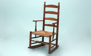 255 19th Century American Maple Rocker
