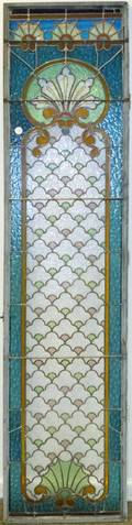 An American Leaded Glass Window