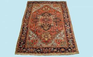 287 Persian SemiAntique Heriz Rug