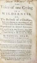 WILLIAMS WILLIAM SHAW SAMUEL