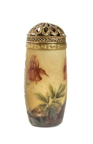 A Daum Enameled Cameo Glass Vase