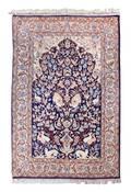 An Isfahan Wool Rug