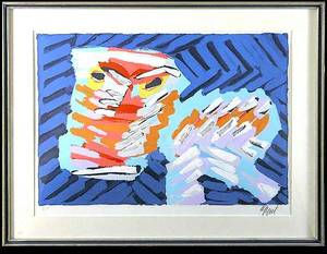 452 Karel Appel Untitled Lithograph Artists Proof