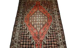 453 SemiAntique Hand Woven Malayer Carpet