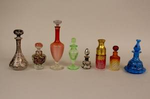 Group of 8 Perfume Bottles