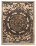 A Tibetan Mandala Painting