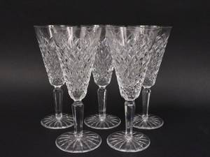 Set of Five Waterford Templemore Flutes