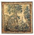 A Flemish Wool Verdue Tapestry