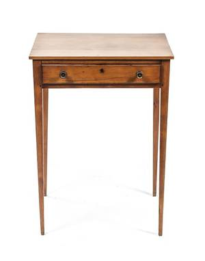An American Maple Occasional Table